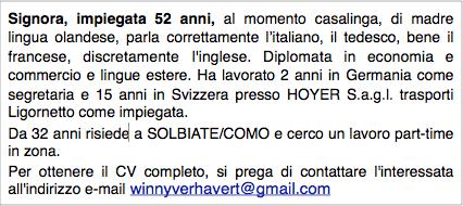 CV Winny Verhavert