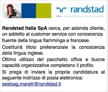 Randstad Italia SpA 8-3-13