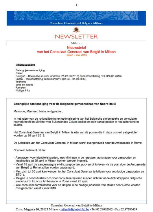 2013 03b Newsletter NL
