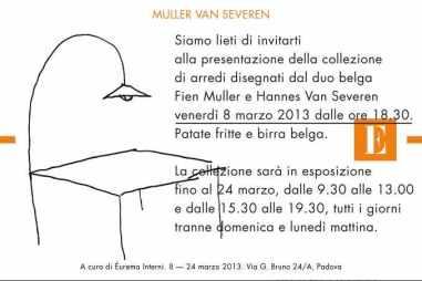 Invito Muller Van Severen