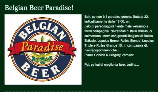 Belgian Paradise