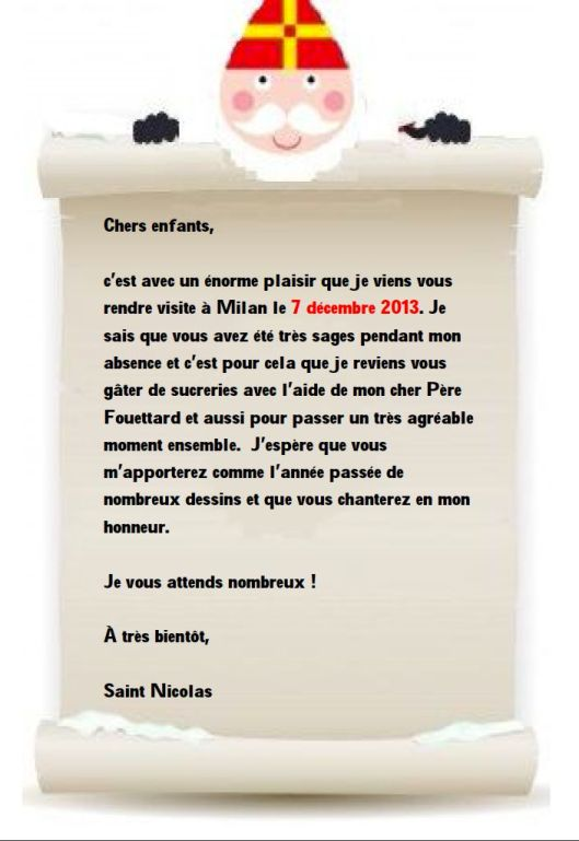 invitation Saint Nicolas FR1