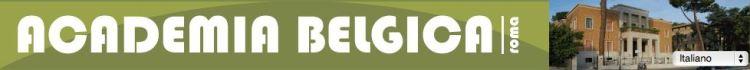 Academia Belgica logo