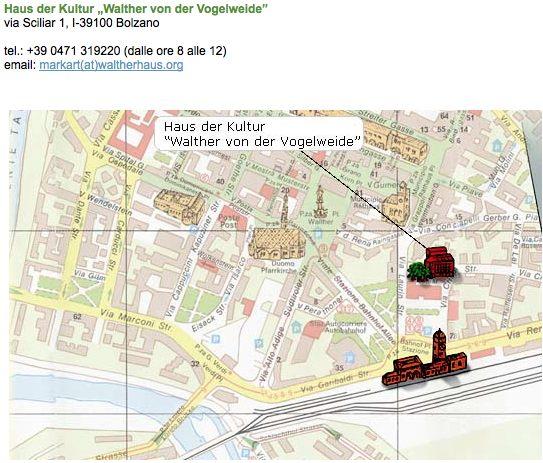 Walterhaus map