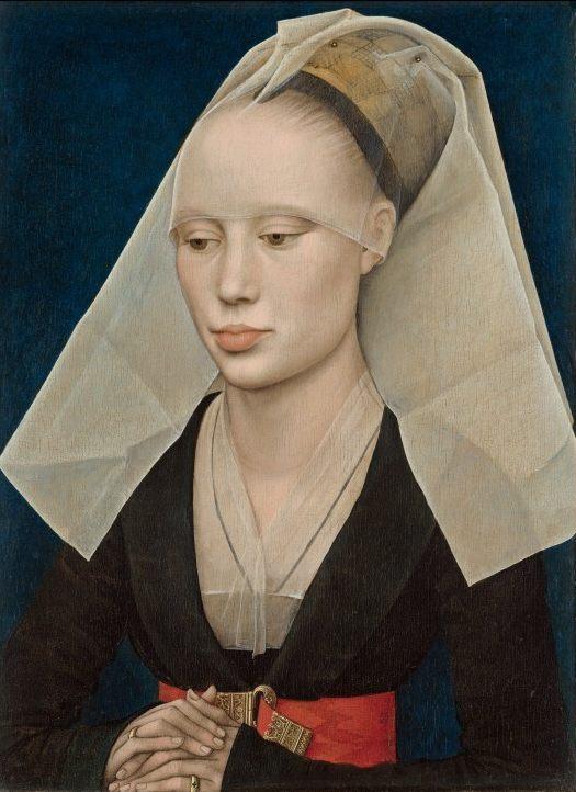 Roger Van der Weyden - Portrait of a lady