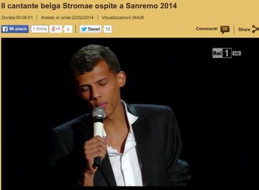 San Remo 2014 Stromae