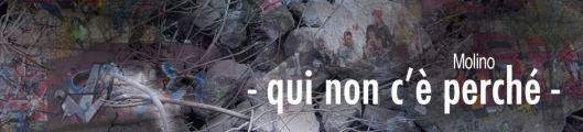 - QUI NON C'È PERCHÉ -ANDREA MOLINO banner