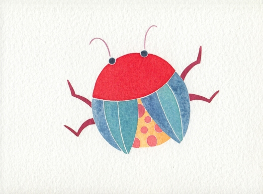 Angelica Gerosa: lady bug