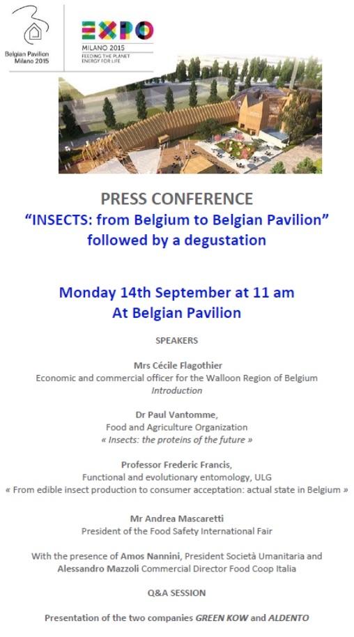 Conferenza insetti