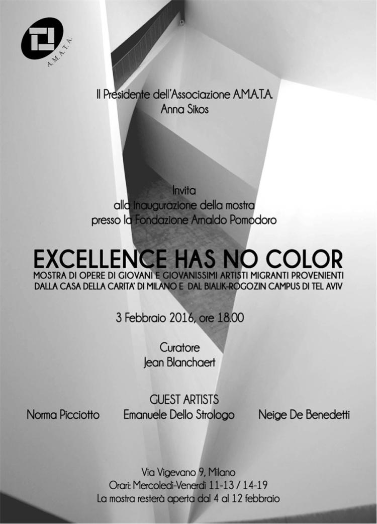 Excellence has no color
